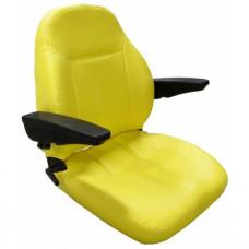 Ariens Yellow Vinyl Seat (Max Zoom 2552, Max Zoom 2560, Zoom 2040, Zoom 2042XL, Zoom 2350, Zoom 2548XL, Zoom 34)