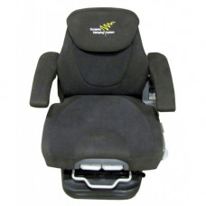 Komatsu D51EX-22 Charcoal Fabric Seat with Air Suspension and Climate Control
