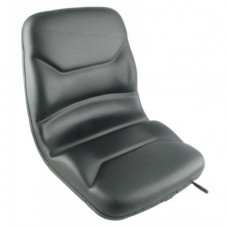 Clark CTM16S Black Vinyl Seat with Slide Track