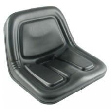 Long Tractor Black Vinyl Bucket Seat (350, 360, 445, 460, 510, 610)