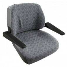 Allis Chalmers | AGCO Allis 8765 Gray Fabric Seat without Suspension