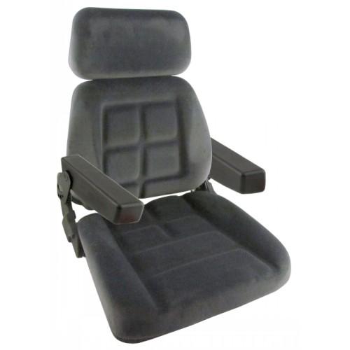 Cloth Tractor Seats : Massey ferguson tractor gray fabric seat s