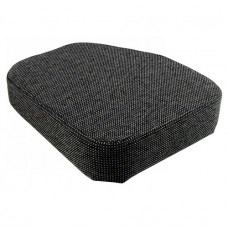 Steiger KR1225 Cougar Gray Fabric Seat Cushion for Side Kick Seat