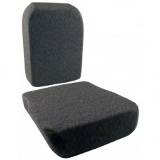 Steiger 280 Gray Fabric Cushion Set for Side Kick Seat