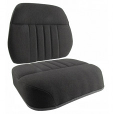 Gleaner N6 Black Fabric Cushion Set