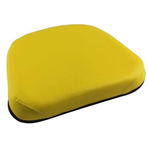 John Deere Tractor Seat Cushion : John deere tractor yellow vinyl seat cushion sr