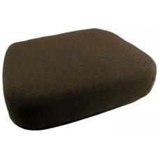 John Deere 9950 Cotton Picker Dark Kayak Brown Fabric Seat Cushion