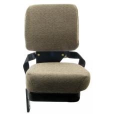 John Deere 4710 Light Brown Fabric Side Kick Seat