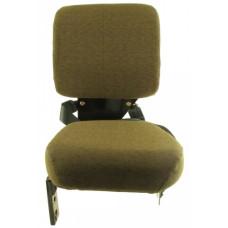 John Deere 8120 Dark Brown Fabric Side Kick Seat