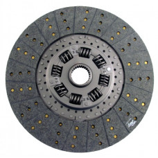 White | AGCO White 2-115 Tractor 14 inch Disc - Woven with 1-3/4 inch 27 Spline Hub - New