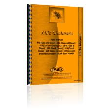 Allis Chalmers 510 Forklift Parts Manual