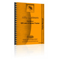Allis Chalmers 620 Lawn & Garden Tractor Parts Manual
