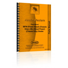 Austin Western 88FW Grader Parts Manual