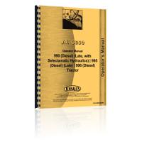 Case 990 Tractor Operators Manual