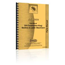 Case 530 Backhoe & Loader Attachment Parts Manual