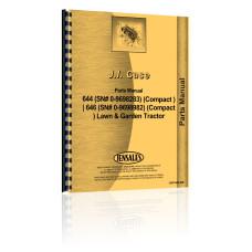 Case 644 Lawn & Garden Tractor Parts Manual (SN# 0-9698283)