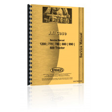 Case 990 Tractor Service Manual (Engine)