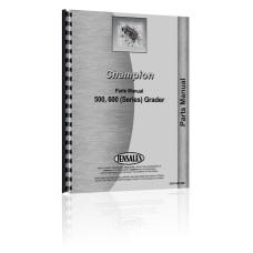 Champion 500, 600 Grader Parts Manual