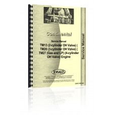 Continental Engines Engine Service Manual (CON-S-TM13,20+)