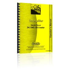 Caterpillar D4 Crawler Operators Manual