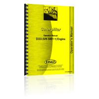 Caterpillar D333 Engine Operators Manual (S/N 58B1+)