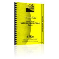 Caterpillar D4600 Engine Operators Manual (SN# 1S5001-1S9999)