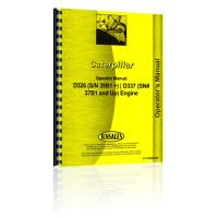 Caterpillar D337 Engine Operators Manual (SN# 37B1 and Up)