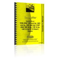 Caterpillar D397 Engine Operators Manual (SN# 10B1 & Up, 11B1 & Up, 12B1 & Up) (10B1+)