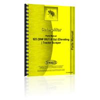 Caterpillar 623 Tractor Scraper Parts Manual (SN# 26U1 & Up)