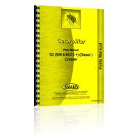 Caterpillar D2 Crawler Parts Manual (S/N 4U6373 +)