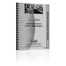 Cummins K, KO, L Engine Service & Operators Manual