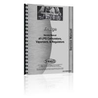 Ensign LPG Carburetors, Vaporizers, & Regulators Service Manual