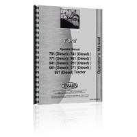 Ford 981 Tractor Operators Manual (Diesel)