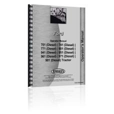 Ford 961 Tractor Operators Manual (Diesel)