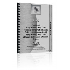 Ford 145 Lawn & Garden Tractor Parts Manual