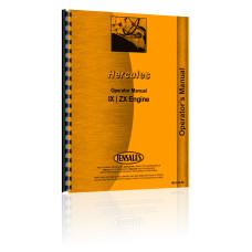 Hercules Engines IX Engine Operators Manual