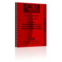 International Harvester Various Hit & Miss Engines Service Manual
