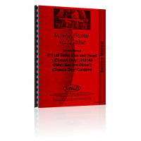 International Harvester 915 Combine Service Manual (All SN#s)