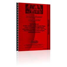 Hough H-100A Pay Loader IH Engine Service Manual