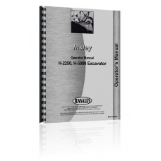 Insley H-2250, H-5000 Excavator Operators Manual