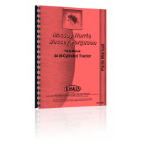 Massey Harris 44 Tractor Parts Manual (6-Cyl)