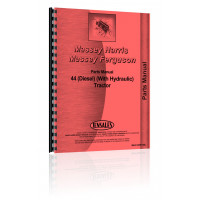 Massey Harris 44 Tractor Parts Manual (w/ Htdraulic)