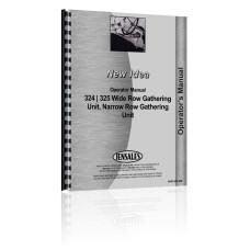 New Idea 324 Wide Row Gathering Unit Operators Manual