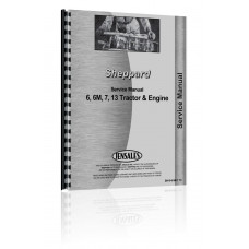 Sheppard 6, 6M, 7, 13 Tractor & Engine Service Manual