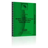 Adams 666 Grader Parts Manual