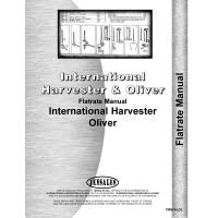 International Harvester Tractor Flat Rate Flat Rate Manual (1924-1971)