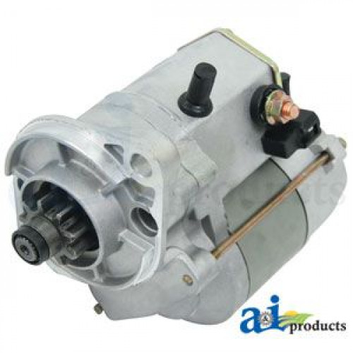 Kioti LK3054 Compact Tractor Starter, ND/Direct Drive, 9 Tooth Drive  (Re-Man)