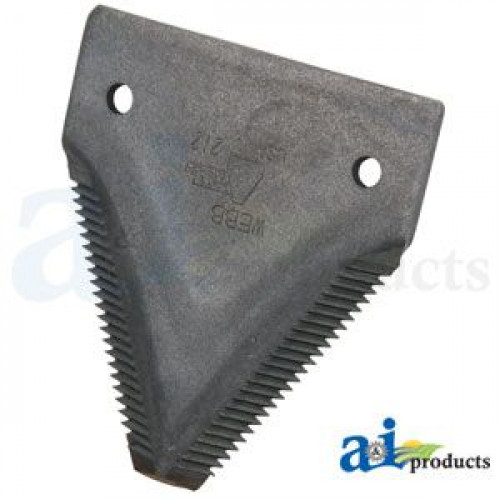 John Deere 2360 Swather/Windrower black 11ga top serrated (with Draper  Header)