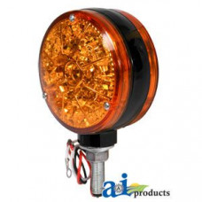 Ford | New Holland 4 CYL Compact Tractor Safety Light; Amber, LED, 12 Volt