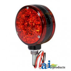 Ford | New Holland 4 CYL Compact Tractor Safety Light; Red, LED, 12 Volt